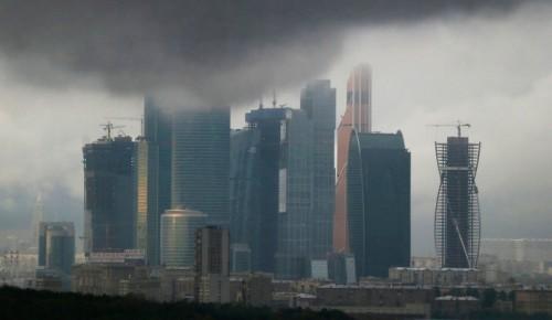 В Москве облачность, осадки в виде снега и дождя
