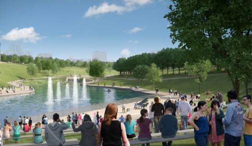 Парк Олимпийской деревни к осени переоборудуют в зону отдыха