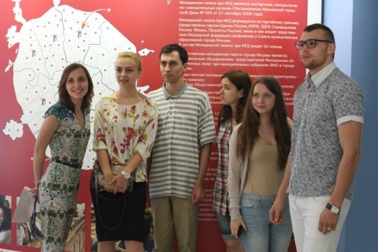 Начались заседания в Центре молодежного парламентаризма Москвы