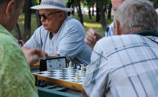 Воронцовский парк приглашает жителей старшего возраста на занятия по шахматам