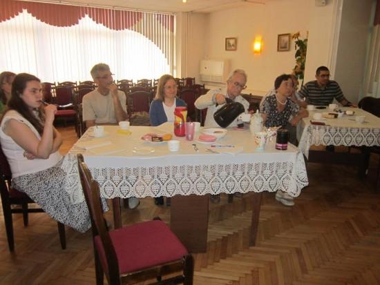 В библиотеке №172 состоялась традиционная встреча английского клуба