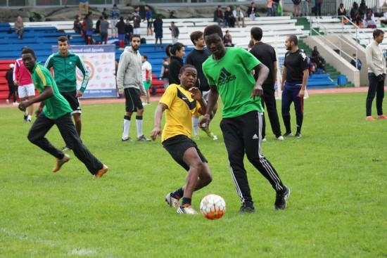 На футбольном поле РУДН встретились 36 национальных сборных