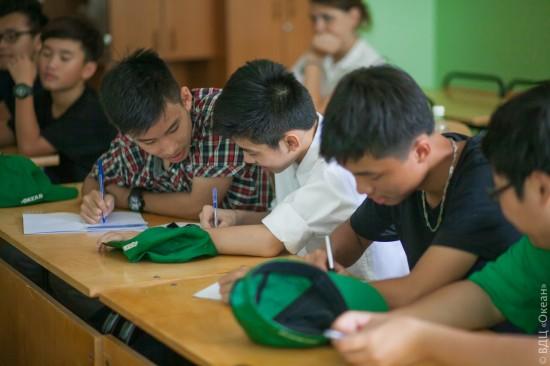 Преподаватели Института Пушкина провели уроки русского языка в детских лагерях «Орленок» и «Океан»
