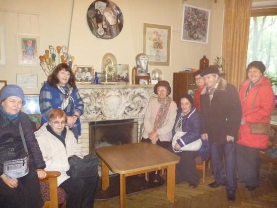 Любители путешествий из Обручевского района посетили музей академика П.Л.Капицы