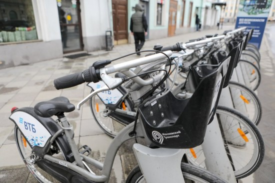 Мария Киселева: Теплая погода позволит работать велопрокату в Москве до 1 декабря