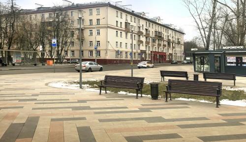 Территория около станции МЦД-1 «Сетунь» станет уютной и зеленой