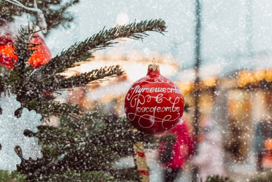На Рождество горожане попробуют колбаски из Германии и сделают ангелочков из войлока