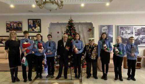 Школьники Теплого Стана приняли участие в благотворительной акции