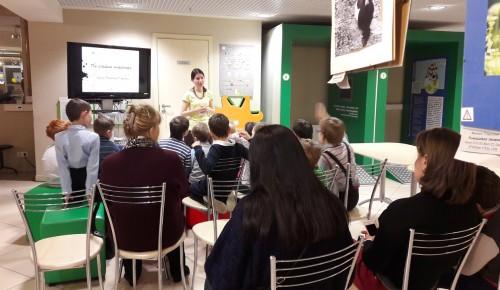 Специалисты Мосприроды проведут экологический мастер-класс