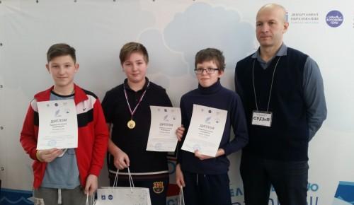 Юные судомоделисты «Истока» стали лауреатами городского конкурса