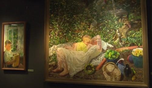 На выставке в Академии акварели представлены более 400 картин Аркадия Пластова