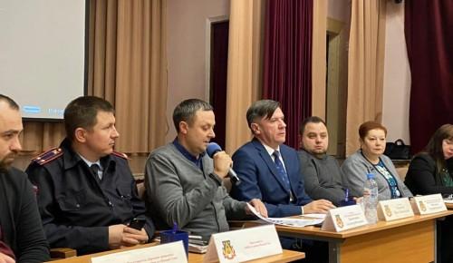 Жителям Теплого Стана рассказали о спорте, досуге и «Московском долголетии»
