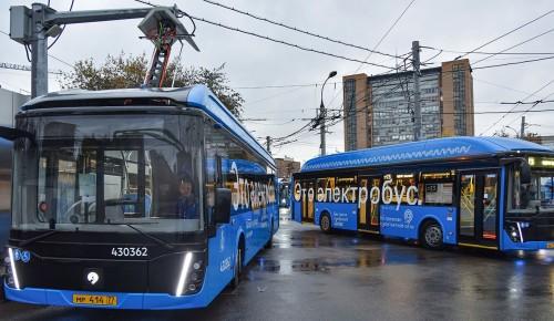 На Юго-Западе столицы появится подстанция для зарядки электробусов