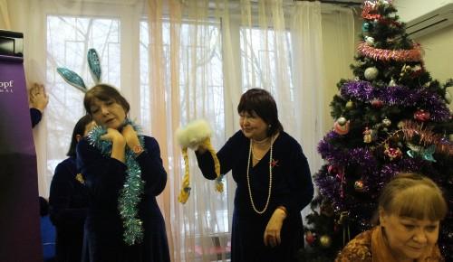 Старый Новый год наши «долголеты» отметили песнями, загадками и шарадами