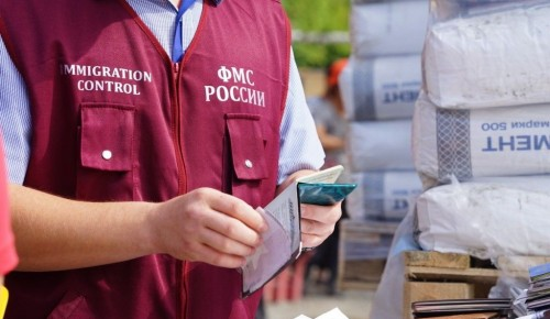 Незаконная миграция в Москве снизилось в четыре раза