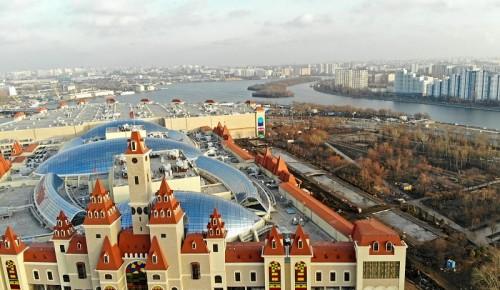 Путин и Собянин открыли крупнейший в Европе крытый парк развлечений