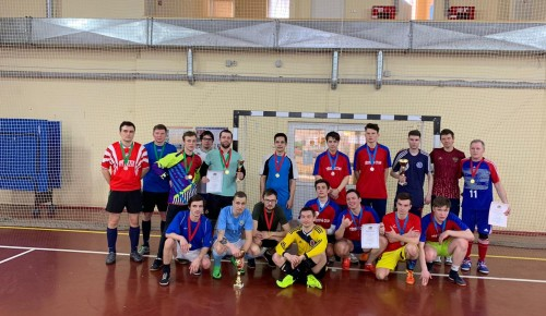 Наши футболисты стали призерами окружного турнира