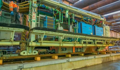 Метро в Теплом Стане строят на глубине 19 метров