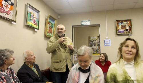 На заседании литературного клуба звучали романсы и бардовские песни