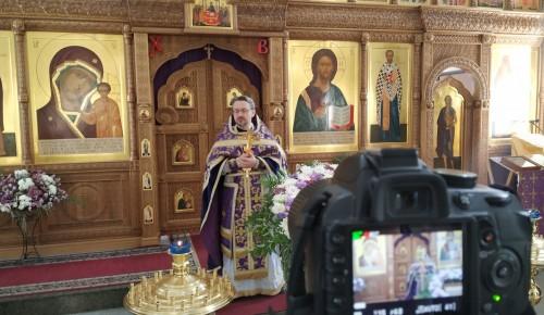 Поучаствовать в Богослужении в Казанском храме теперь можно по Вотсап