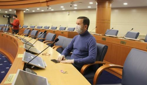 Депутат МГД: Заседание Мосгордумы пройдет в онлайн-режиме по соображениям безопасности