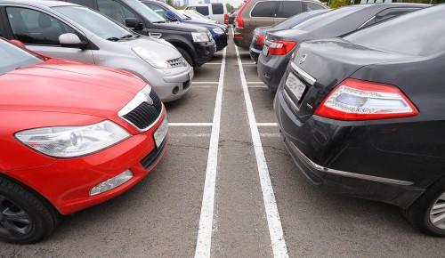 Парковку со шлагбаумом в Теплом Стане регулярно дезинфицируют