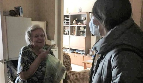 Самоизоляция: волонтеры храма помогли пожилым людям и инвалидам