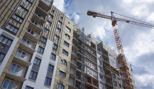 В ЮЗАО продолжается строительство домов по программе реновации