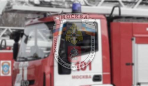 Пожар в больнице на севере Москвы ликвидирован