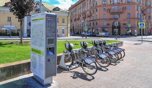 Депутат МГД: В этом сезоне для москвичей будет работать более 600 станций велопроката