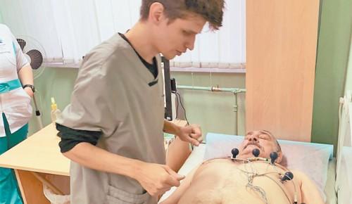Филиал № 4 поликлиники № 121 участвует в третьем этапе проекта «Кардиореабилитация»