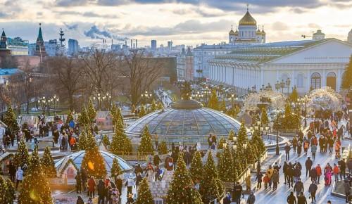 В столице стартовал фестиваль «Путешествие в Рождество»