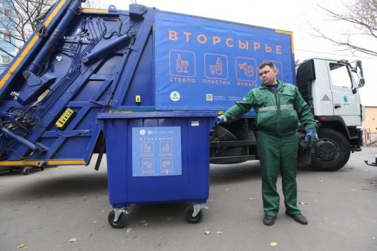 С 1 января в районе Северное Бутово стартовала программа по раздельному сбору мусора