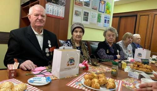 Награждены памятными медалями ветераны ВОВ, жители района Северное Бутово