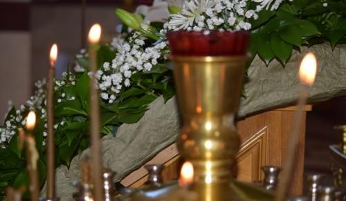 Жителей района Ясенево приглашают на службы в честь Великого праздника Крещение Господне