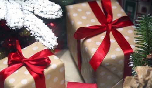 Горожане могут поучаствовать в акции «Эстафета подарков» в павильоне МЦД