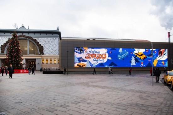 В павильоне МЦД в Новогодние праздники побывали более 5 тысяч человек