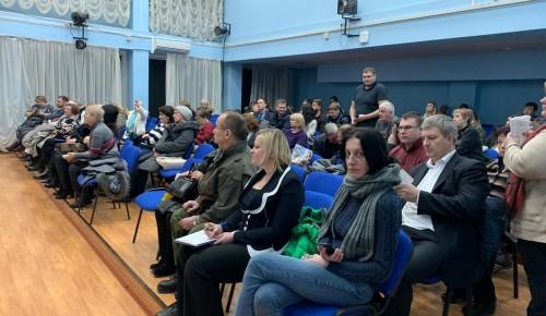 На встрече администрации района с жителями рассказали о работе с социально-незащищенными ясеневцами