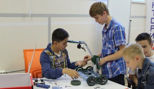 Ура! Каникулы: в школе № 2103 будет работать «Зимняя инженерная смена»