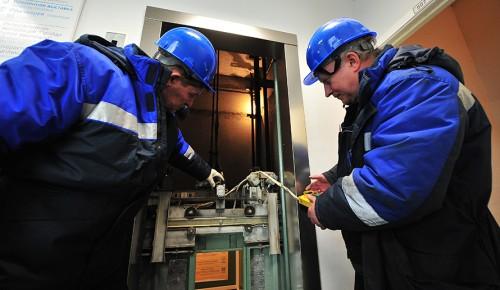 В домах района Ясенево заменят лифтовое оборудование