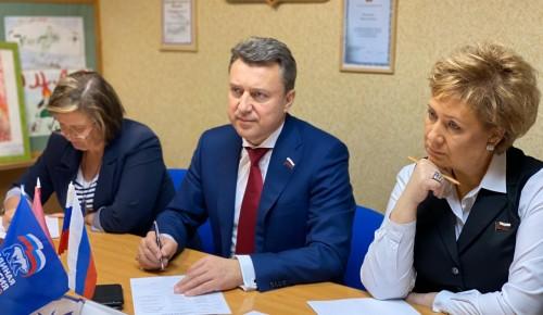 Анатолий Выборный провел очередной прием граждан в районе Ясенево