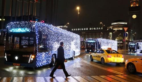 Штрафы за праздничную подсветку столичных электробусов аннулировали