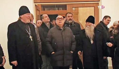 Владимир Ресин проинспектировал строительство храмов в Южном Бутове