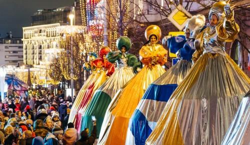 Более миллиона человек отметили праздник на площадках фестиваля «Путешествие в Рождество»