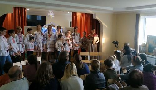 В воскресной школе прошёл Рождественский праздник