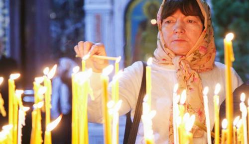 В центре Москвы перекроют несколько улиц для проведения рождественских служб 6 и 7 января
