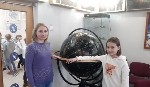 Школьники посетили лекцию, посвящённую истории космонавтики