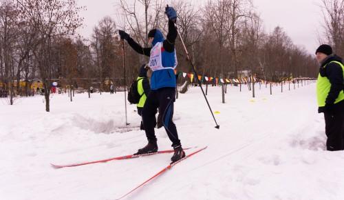 Команда Южного Бутова приняла участие в соревнованиях по лыжным гонкам для лиц с ОВЗ