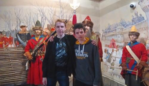 Воспитанники школы-интерната № 32 посетили «Стрелецкие палаты»