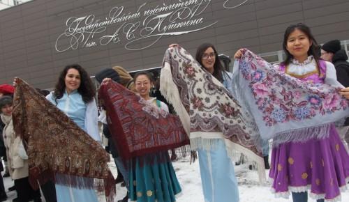 В праздновании Дня студента в институте им. Пушкина участвовали студенты из 30 стран